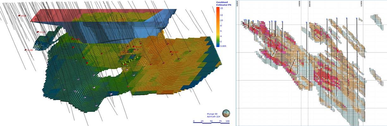 3d моделирование месторожденийкаркасное и блочное инфографика